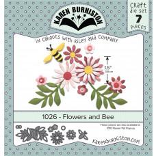 Karen Burniston - Flowers and Bee Stanzen