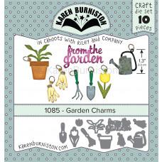 Karen Burniston - Garden Charms Stanzen