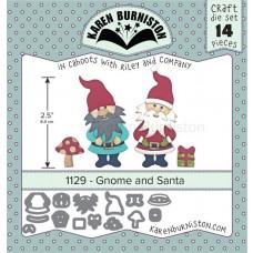 Karen Burniston - Gnome & Santa - Layer Stanzen