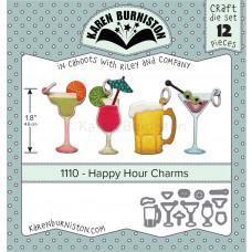 Karen Burniston - Happy Hour Charms Stanzen