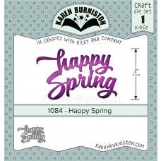 Karen Burniston - Happy Spring Stanzen