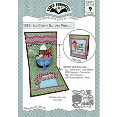 Karen Burniston - Ice Cream Sundae Pop-Up Stanzen