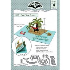 Karen Burniston - Palm Tree Pop-Up Stanzen