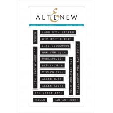 Label Love German Altenew