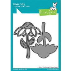 Lawn Fawn - Delightful Daisy - Stand Alone Stanze