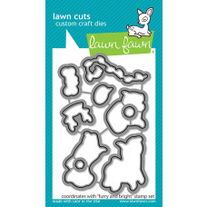 Lawn Fawn - Furry and Bright - Stanze