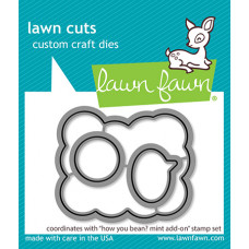 Lawn Fawn - How You Bean? Mint Add-On - Stanze