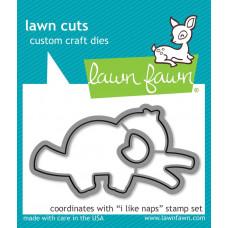 Lawn Fawn - I Like Naps - Stanzen