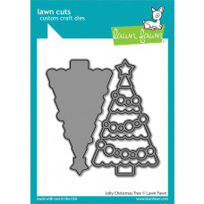 Lawn Fawn - Jolly Christmas Tree - Stand Alone Stanze
