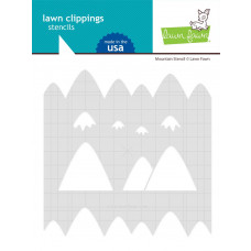 Lawn Fawn - Mountain - Schablone