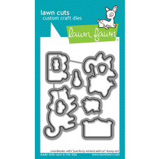 Lawn Fawn - Purrfectly Wicked Add-On - Stanzen