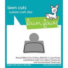 Lawn Fawn - reveal wheel car critters add-on - Stanzen