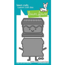 Lawn Fawn - Smiley S'more - Stand Alone Stanze