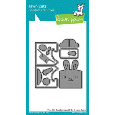 Lawn Fawn - Tiny Gift Box Bunny Add-On - Stanze
