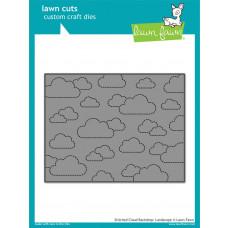 Lawn Fawn - Stitched Cloud Backdrop- Landscape - Stanze