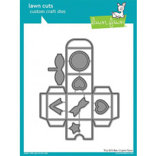 Lawn Fawn - Tiny Gift Box - Stanze