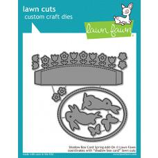 Lawn Fawn - Shadow Box Card Spring Add-On - Stanze