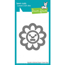 Lawn Fawn - Outside In Stitched Flower - Stanze