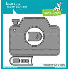 Lawn Fawn - magic iris camera add-on - Stanzen