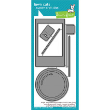 Lawn Fawn - magic iris camera pull-tab add-on - Stanzen