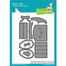 Lawn Fawn - tiny gift box bee add-on - Stanzen