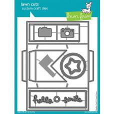 Lawn Fawn - shutter card - Stanzen