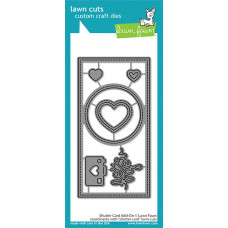 Lawn Fawn - shutter card add-on - Stanzen