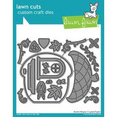 Lawn Fawn - acorn house - Stanzen