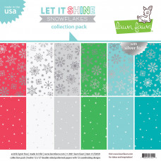 Lawn Fawn - Collection Pack - Let it shine Snowflakes