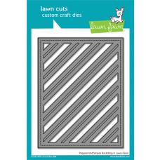 Lawn Fawn - Peppermint Stripes Backdrop - Stand Alone Stanzen