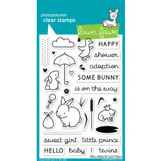 clear stamps lawn fawn Hello Baby für scrapbooking & cardmakings