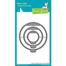 Lawn Fawn - Lift The Flap Circles - Stanzen