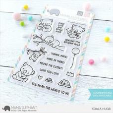 Mama Elephant - Koala Hugs - Clear Stamp 4x6