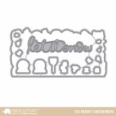 Mama Elephant - So Many Snowmen - Stanzen