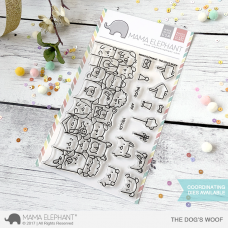 Mama Elephant - The Dog's Woof - Clear Stamp 4x6