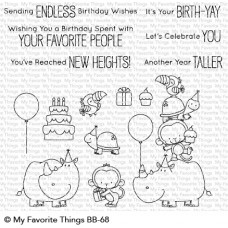My Favorite Things - Birth-Yay - Clear Stamp 4x8