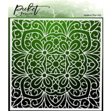 Picket Fence Studios - Coloring Book - Schablone