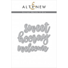 Altenew - Script Words 3 - Stanze