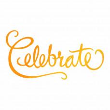 Ultimate Crafts - Celebrate - Hotfoil Stamp