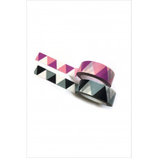 Washi Tape - Triangles & Pink