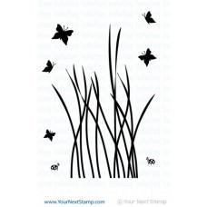 """Your Next Stamp Stempelset 4x6"""" - Big Tall Grass"""