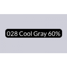 Spectra Ad Marker - 028 Cool Gray 60%