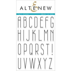 Altenew - Tall Alpha - Clear Stamps 4x6