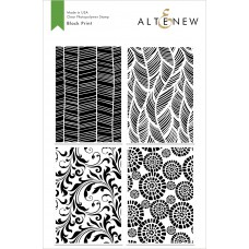 Altenew - Block Print - Clear Stamp 6x8