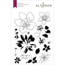 Altenew - Floral Art - Clear Stamp 6x8