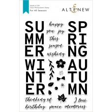 Altenew - For All Seasons - Clear Stamp 6x8