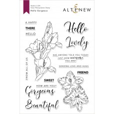 Altenew - Hello Gorgeous - Clear Stamp 6x8