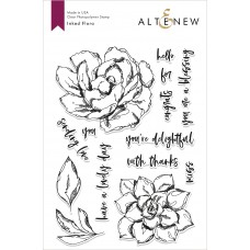 Altenew - Inked Flora - Clear Stamp 6x8