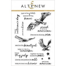 Altenew -  Land Of The Free - Clear Stamps 6x8