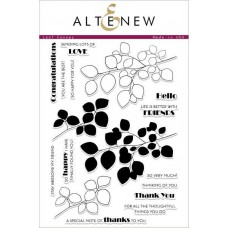 Altenew -  Leaf Canopy - Clear Stamps 6x8
